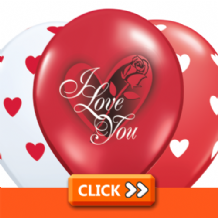 Love & Romantic Latex Balloons
